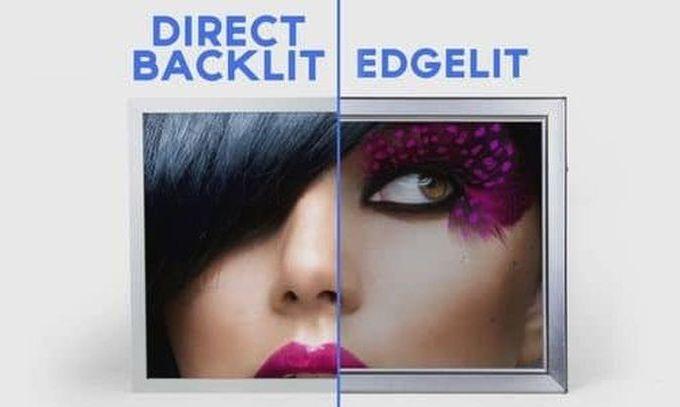 Direct-LED backlight vs Edge-LED backlight in TVs - The